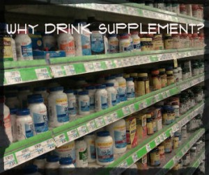 why drink supplement 300x252 Should Runners Drink Supplement