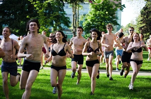 Photo: University of Washington Undie Run